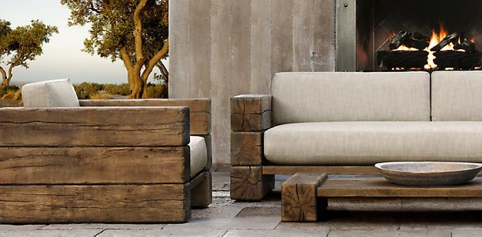 Post and Beam Inspiration: Outdoor Furniture