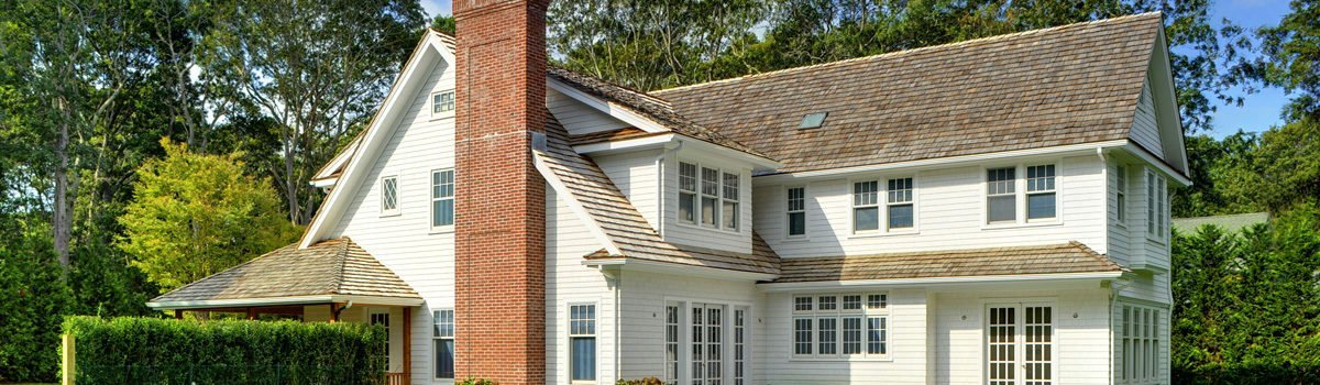 Shingle Style Barn Cottage Custom Home Design In East Hampton NY