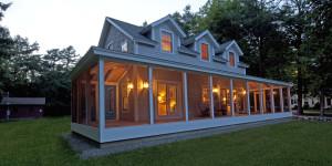Post and Beam Coastal Cottage
