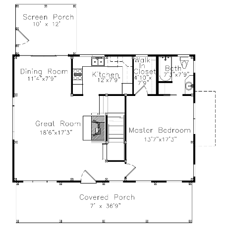 Small barn house plans for Home plans with guest house