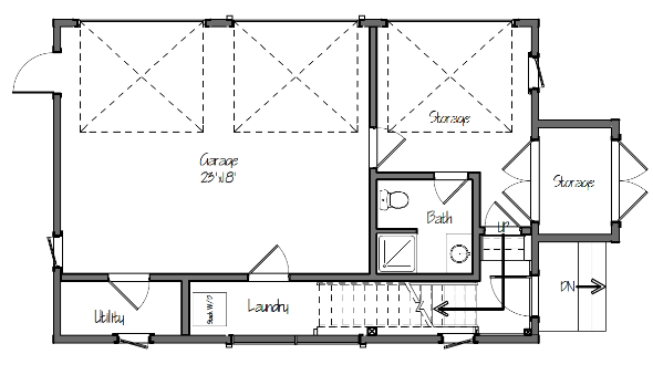 Small Barn House Plans