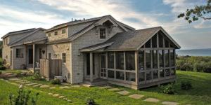 Martha's Vineyard Post and Beam Coastal Cottage