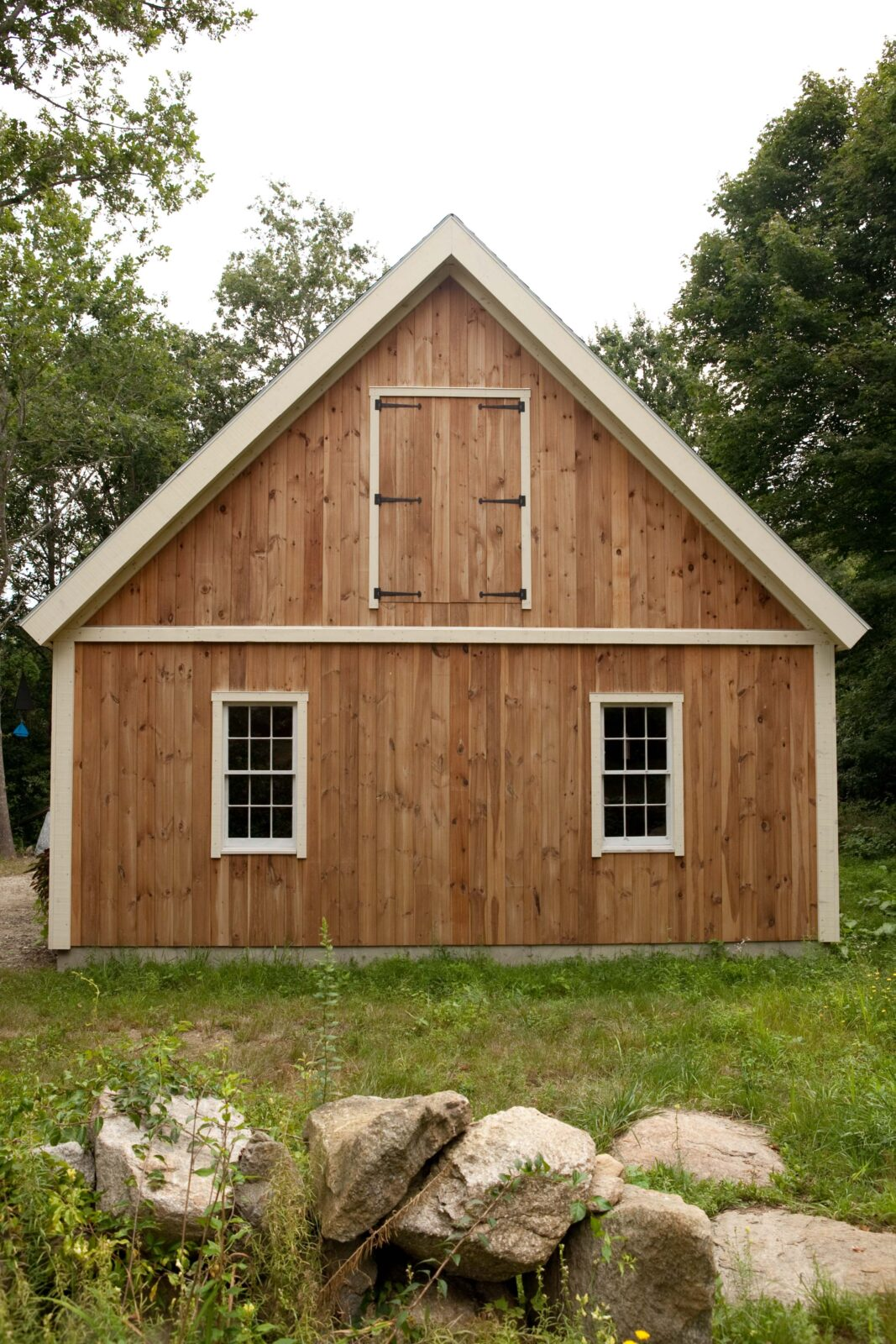Exterior shot of Yankee Barn Homes barn