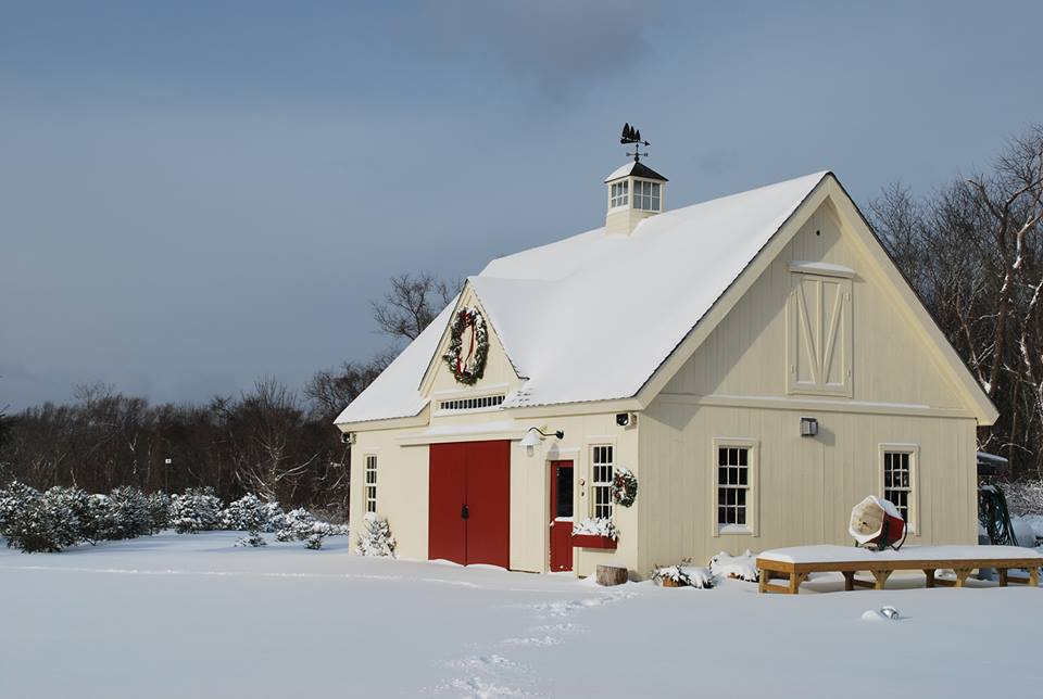 Christmas Barns, a photo from Utah, West | TrekEarth
