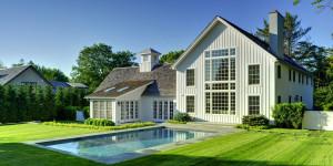 Laurel Hollow modern contemporary barn home in East Hampton