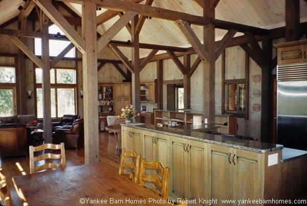 Bear Brook Camp Mountain Lodge Yankee Barn Homes