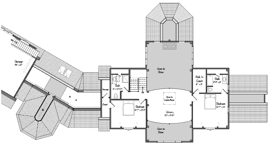 The Ironwood Level Two Floor Plan