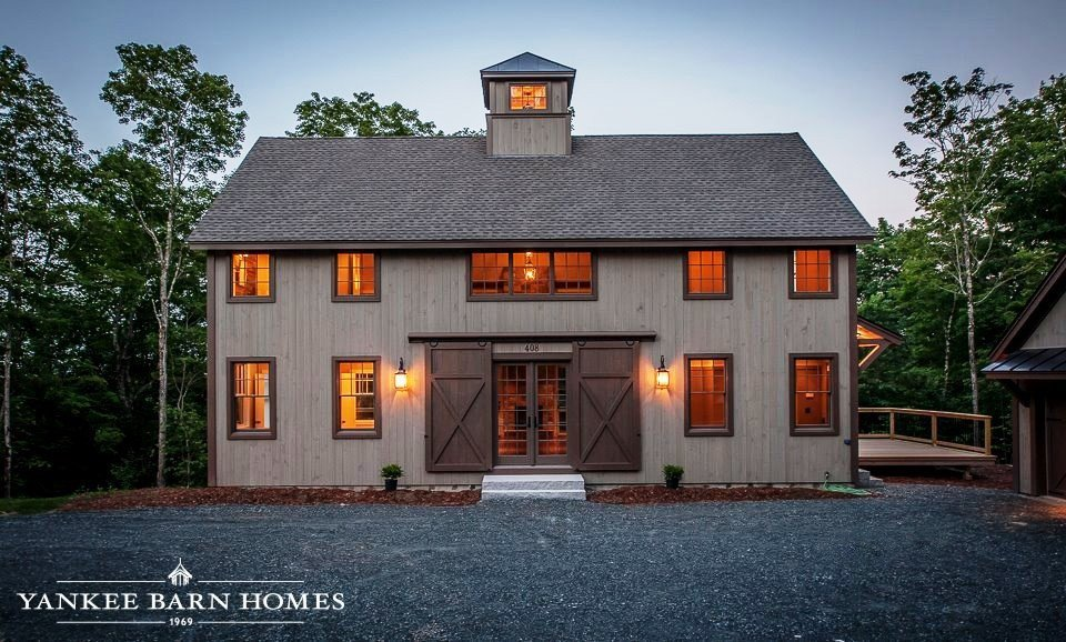 Barn Style Home Stuns The Grantham Lakehouse