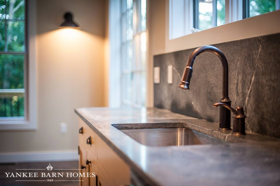 Barn Style Sink : Barn Style Home Stuns: The Grantham Lakehouse