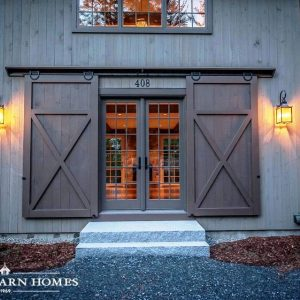 Barn doors interior and exterior examples for Exterior barn doors for house