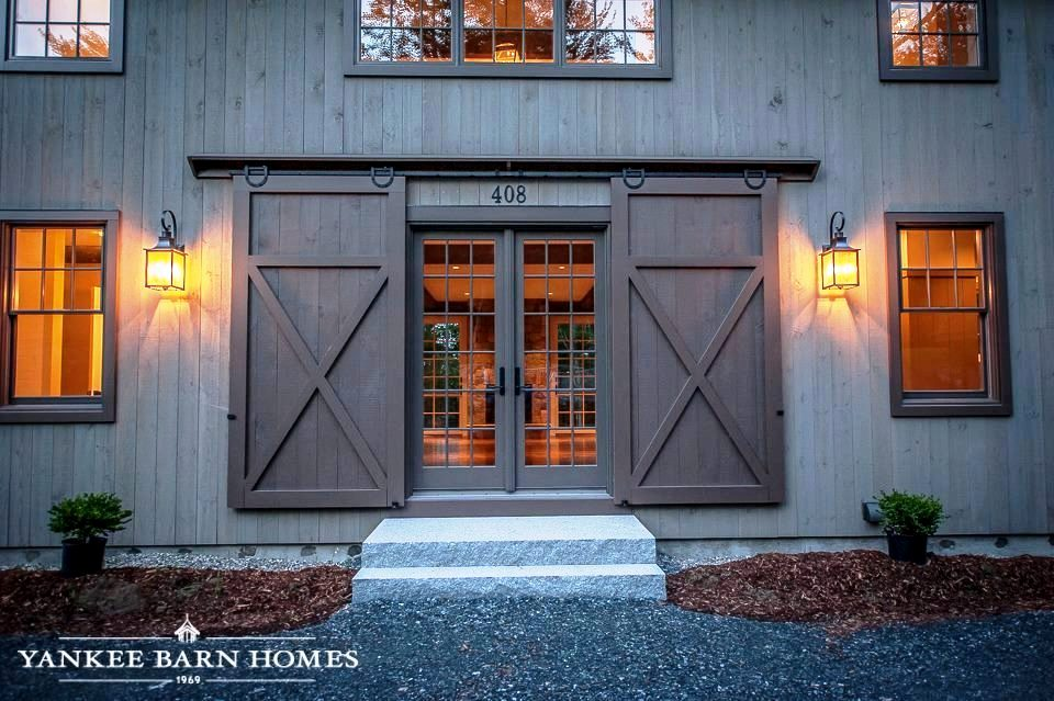 Functional Exterior Barn Doors & Barn Doors Interior and Exterior Examples