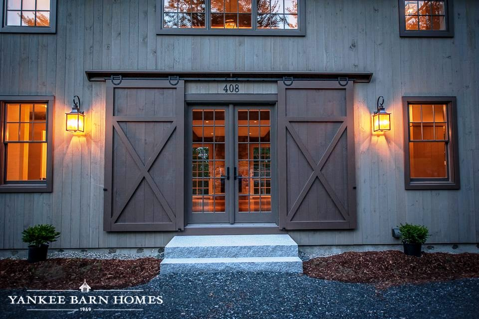 Barn Doors Interior and Exterior Examples on