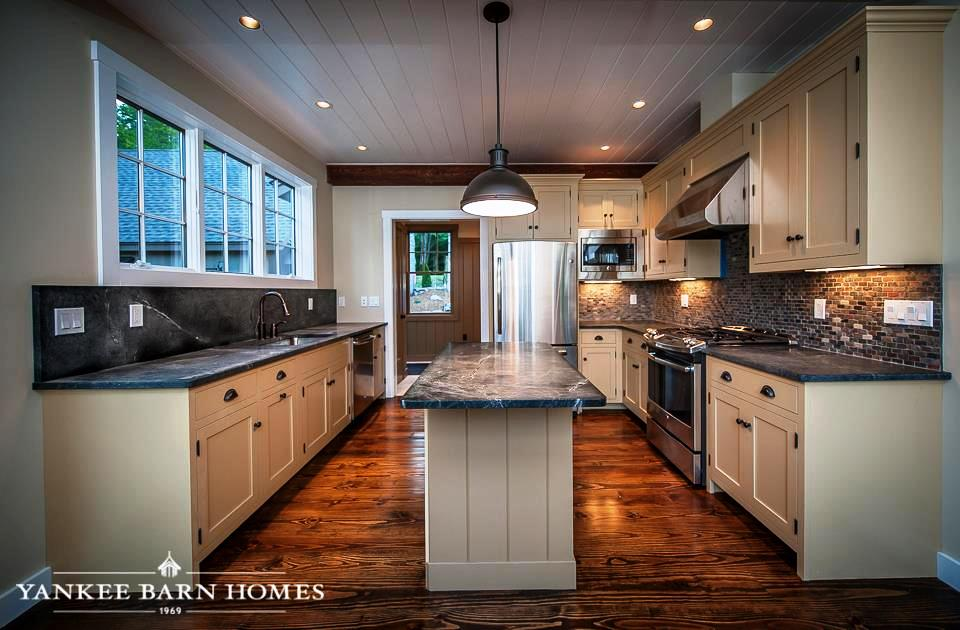 Lake house style kitchens