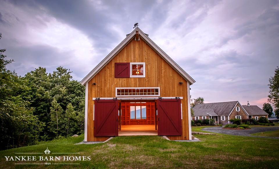Beautiful Red Barns Images