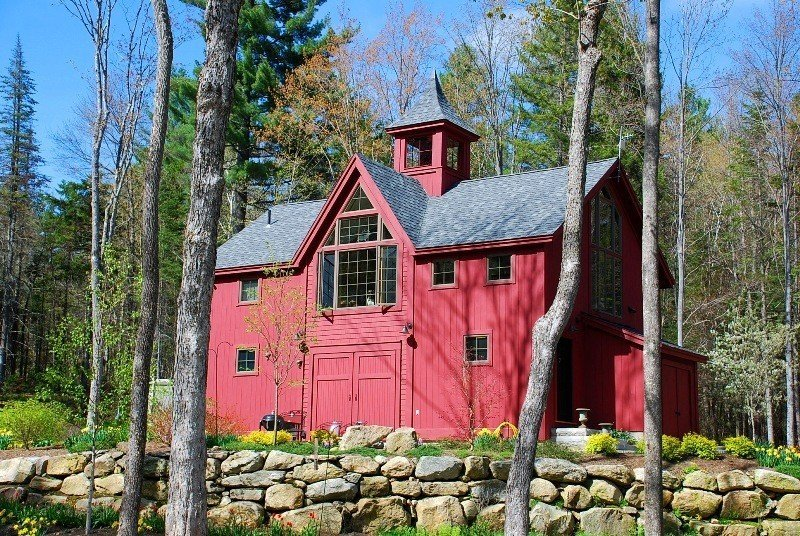 Exterior Faux Barn Doors