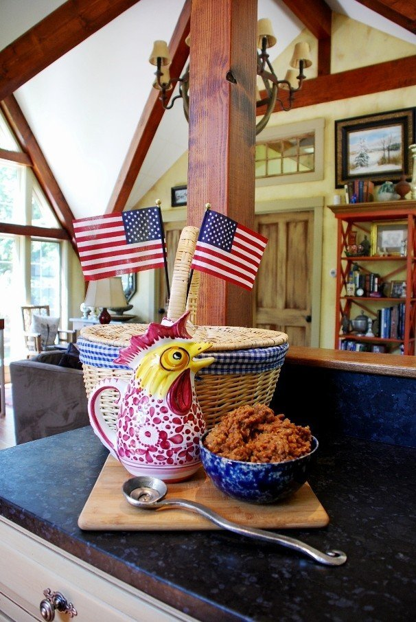 Barn Home Lifestyle Baked Beans Picnic