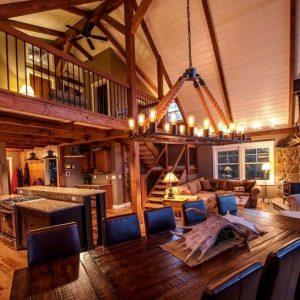 Moose Ridge Lodge at Day's End