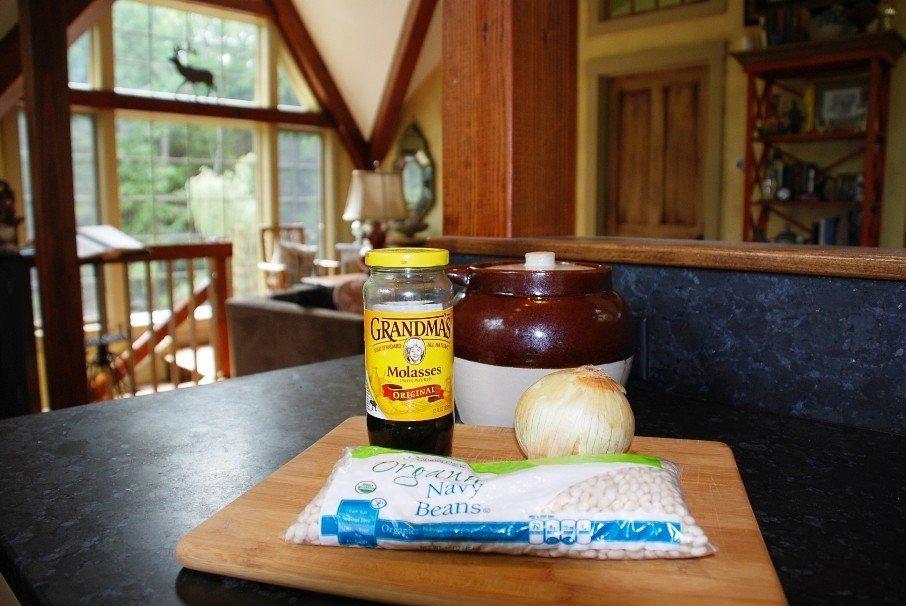 Barn Home Lifestyle Baked Beans Prep