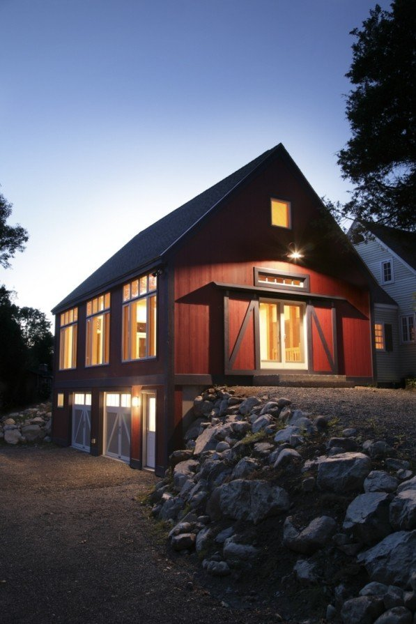 Universal design yankee barn homes is on the beam for Barn house designs