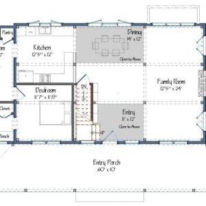 Merrimack Floor Plan Level One