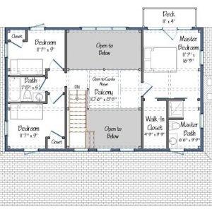 Merrimack Floor Plan Level Two
