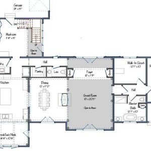 The Southold Floor Plan Level One