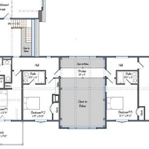 The Southold Level Two FLoor Plan