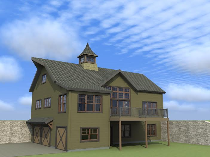 Barn House Plans - The Cabot