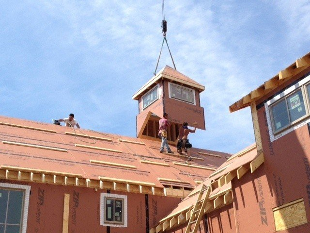 The Southold Cupola Construction