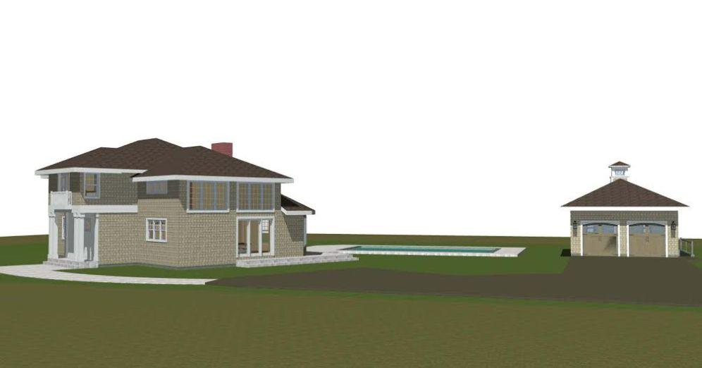 New Garage/Pool House