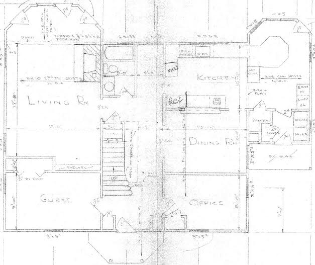 Original Floor Plan Level One