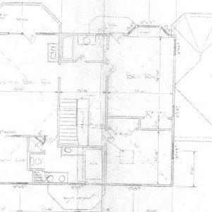 Original Floor Plan Level Two