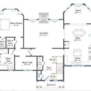 Fieldview Addition Floor Plan Level One