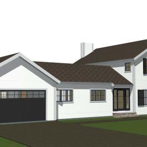 New Contemporary Barn Home Maidstone Farm