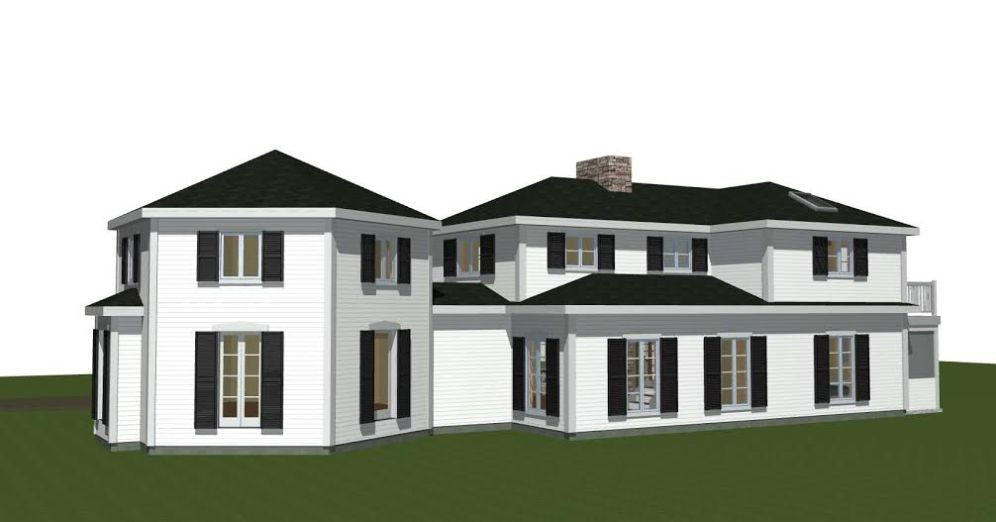 Post and Beam Renovation Plan 1