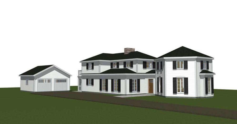Post and Beam Renovation Plan 3
