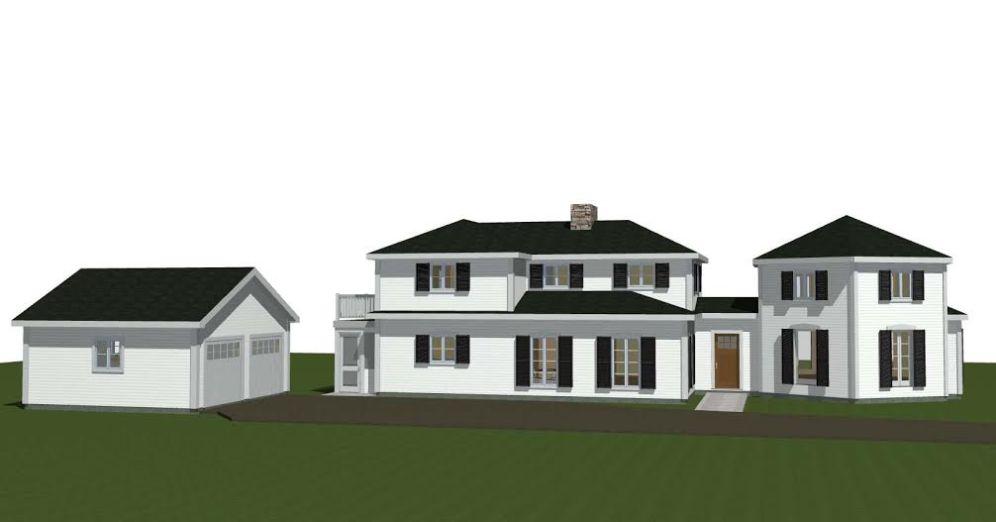 Post and Beam Renovation Plan 4