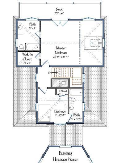 Parris-Briggs Floor Plans Level Two