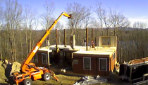 Time-Lapse Construction of a Yankee Barn Home