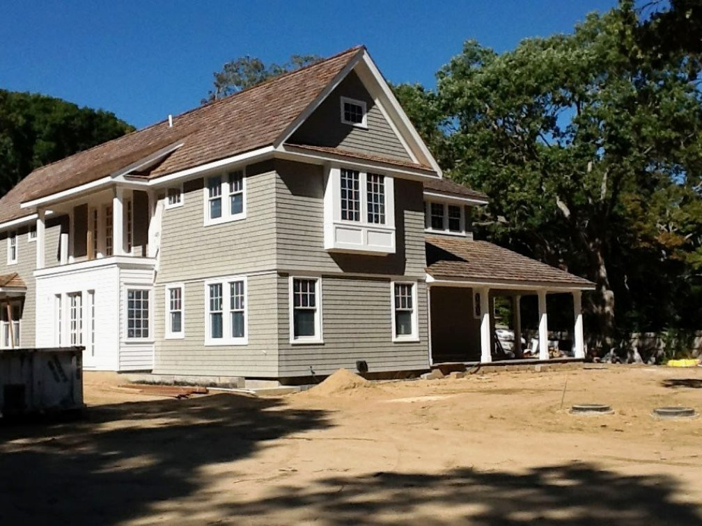 Shingle Style Yankee Barn Homes