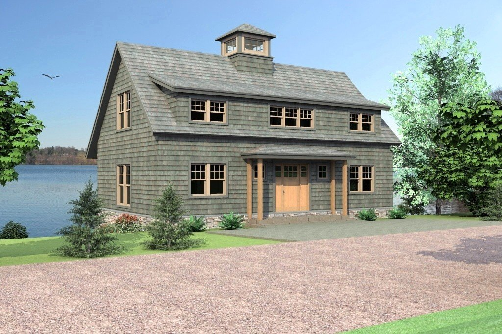Mansfield Hollow Cottage Front
