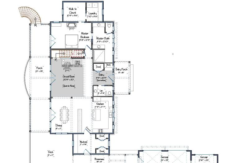 Ashuelot Lodge Main Level Floor Plans