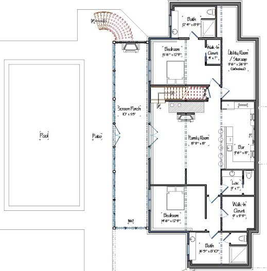 Ashuelot Lodge Lower Level Floor Plans