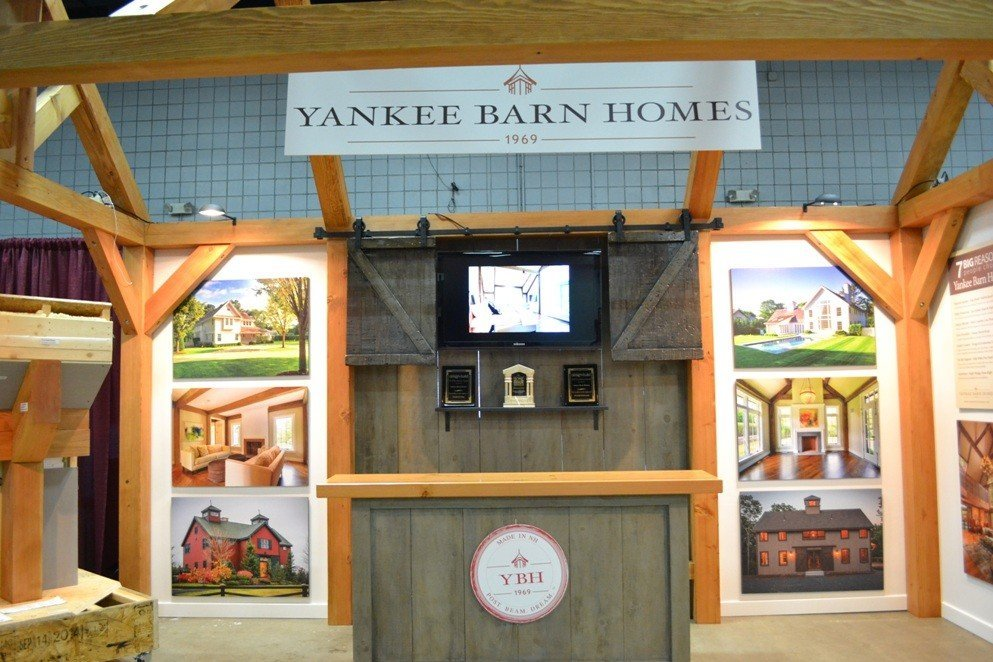 Sliding Barn Doors TV Enclosure
