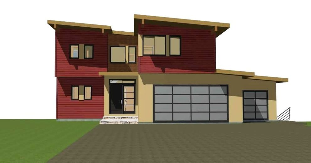 Mad River Modern Front Elevation