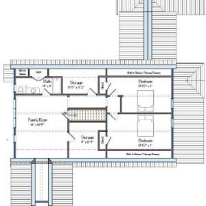 Copperstown Floor Plan Level Two