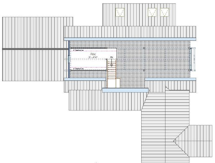 The Wyoming Floor Plan Attic Loft