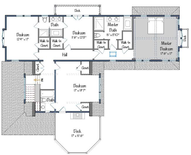 Cove Hollow Floor Plans Level Two