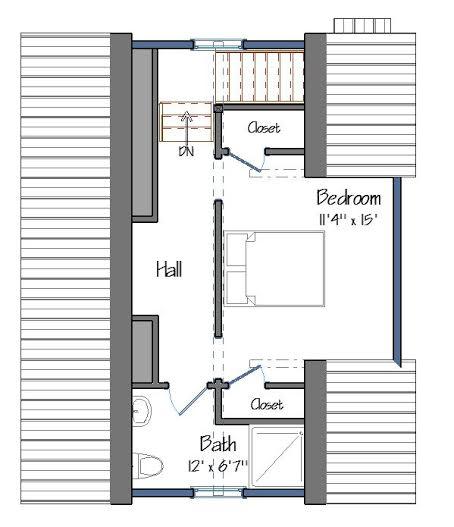 Barn Floor Plans Level Two