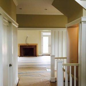 Hallway to Living Room